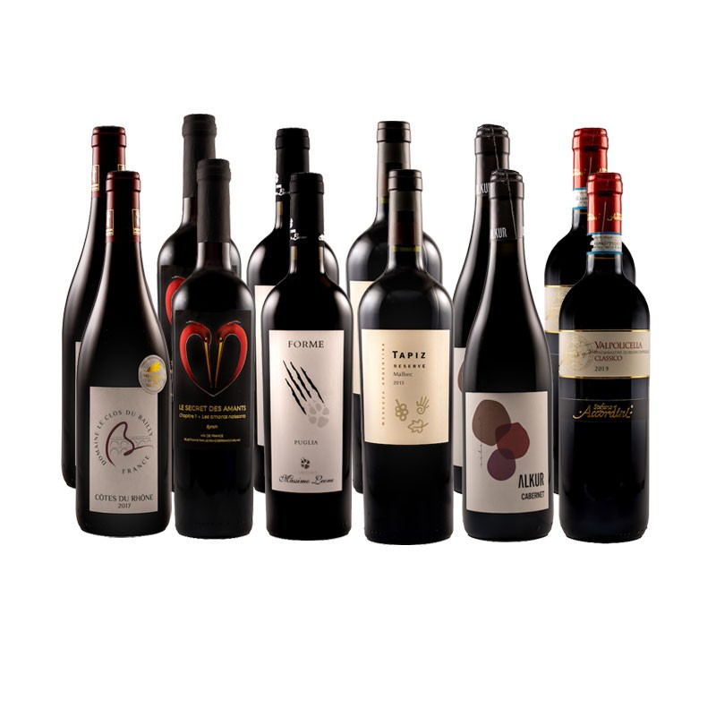 All Red Wines Mixed case