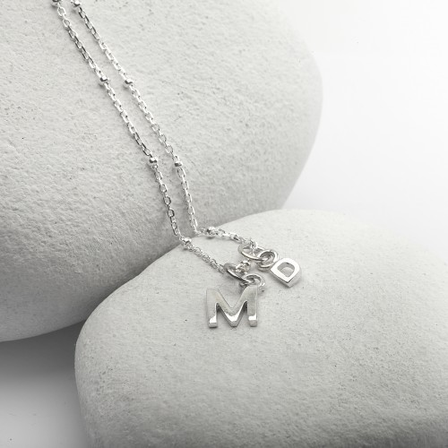 Alphabet Necklace in Sterling Silver