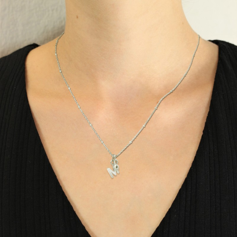 Alphabet Necklace in Sterling Silver 2
