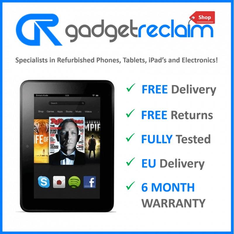 """Amazon Kindle Fire HD 2nd Gen (X43Z60) 7"""" WiFi Black   Grade B   33% OFF 1"""