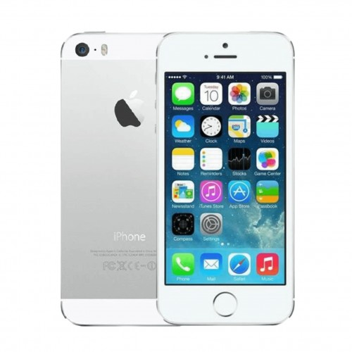 Apple iPhone 5S 16GB Silver | Unlocked | Grade B (No Touch ID)