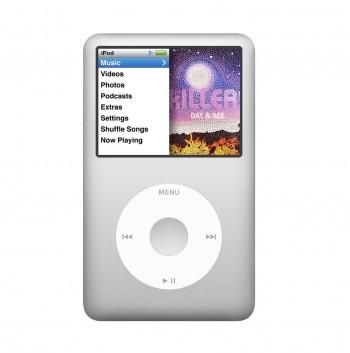Apple iPod Classic 6th Gen 80GB | Silver | Grade C