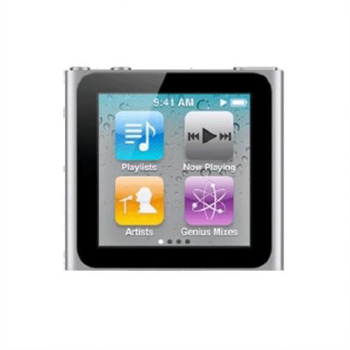 Apple iPod Nano 6th Generation 16GB | Silver | Grade B
