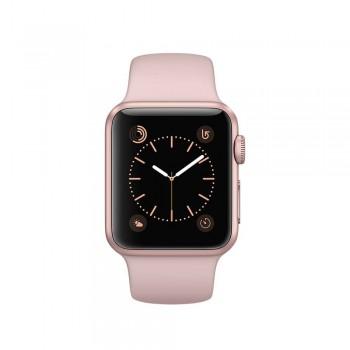 Apple Watch Sport 38mm A1553 Gold (S/M Black/Red Band) | Grade B
