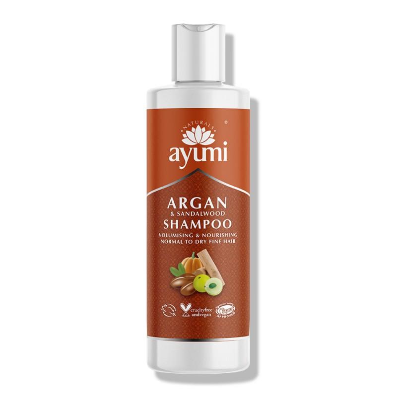 Argan & Sandalwood Hair Shampoo 250ml 2