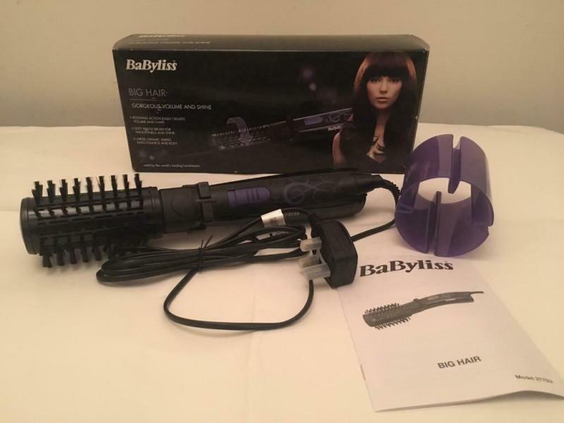 Babyliss hairbrush