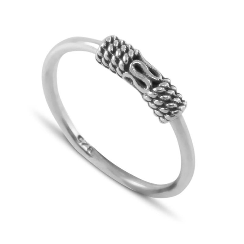 Bali Ring in Sterling Silver