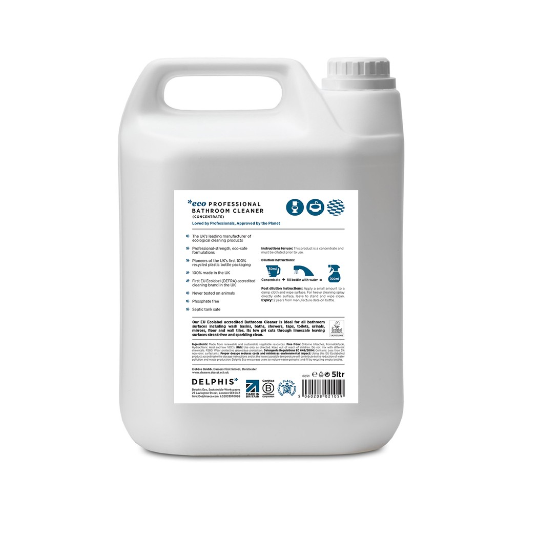 Bathroom Cleaner 5ltr Concentrate 2