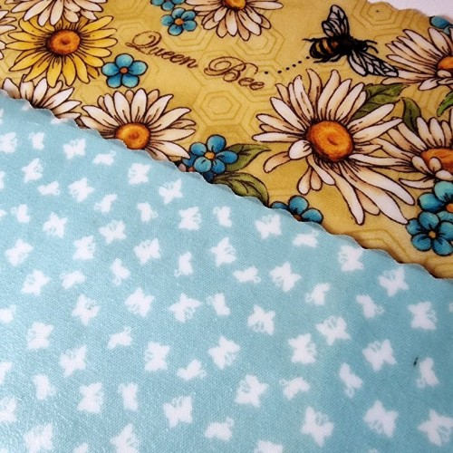 Bee Kind & Teal - Beeswax Wrap Lunch Pack