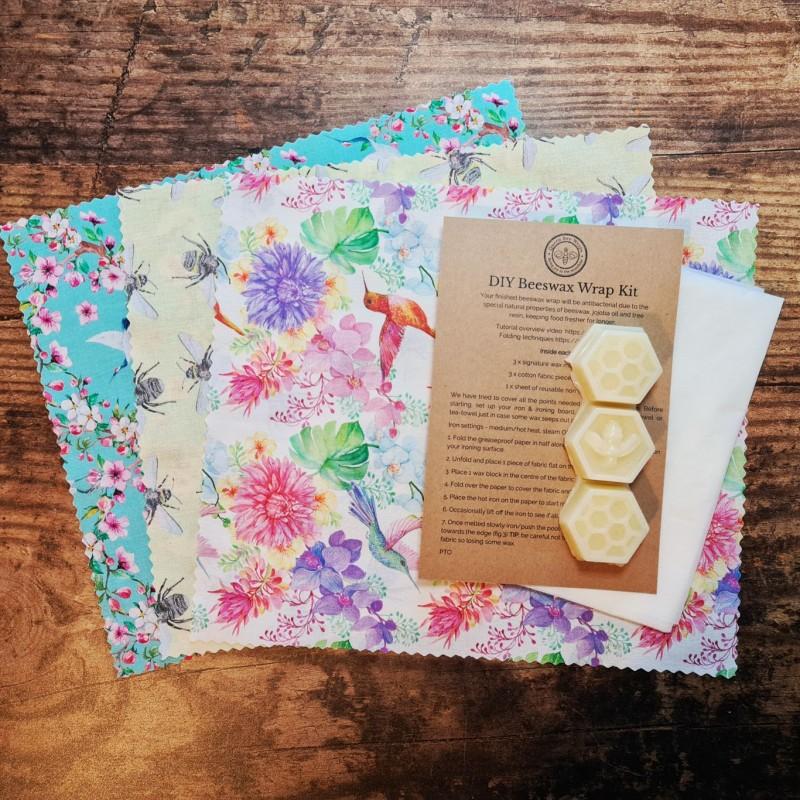 Beeswax wrap craft kit - GIFT BOX SET