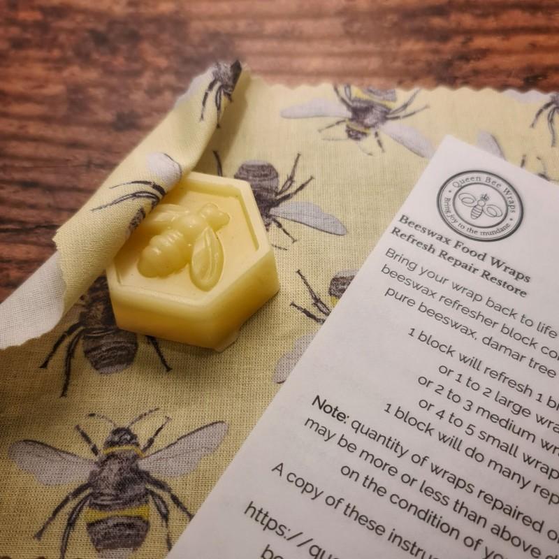 Beeswax Wrap Refresher Block