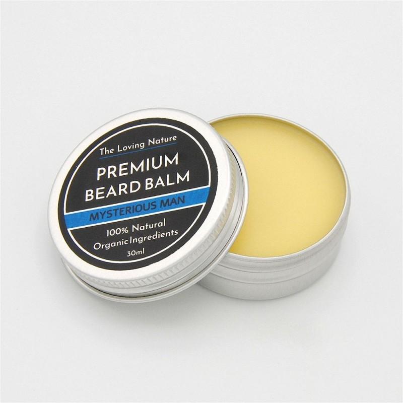 Bergamot & Sandalwood Beard Balm - Mysterious Man