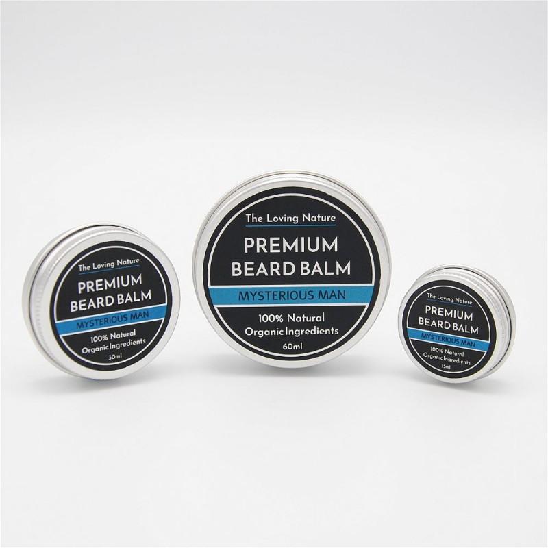 Bergamot & Sandalwood Beard Balm - Mysterious Man 5