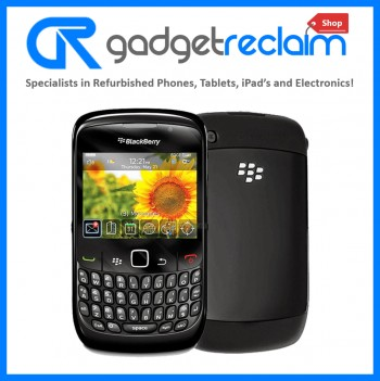 Blackberry Curve 8520 Black QWERTY Keyboard | Unlocked | Grade B