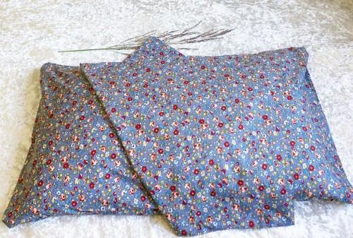 Blue Liberty Cotton Queen Envelope Pillowcase
