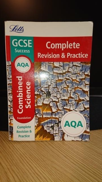 GCSE Revision guides, Spanish, Combined Science, English