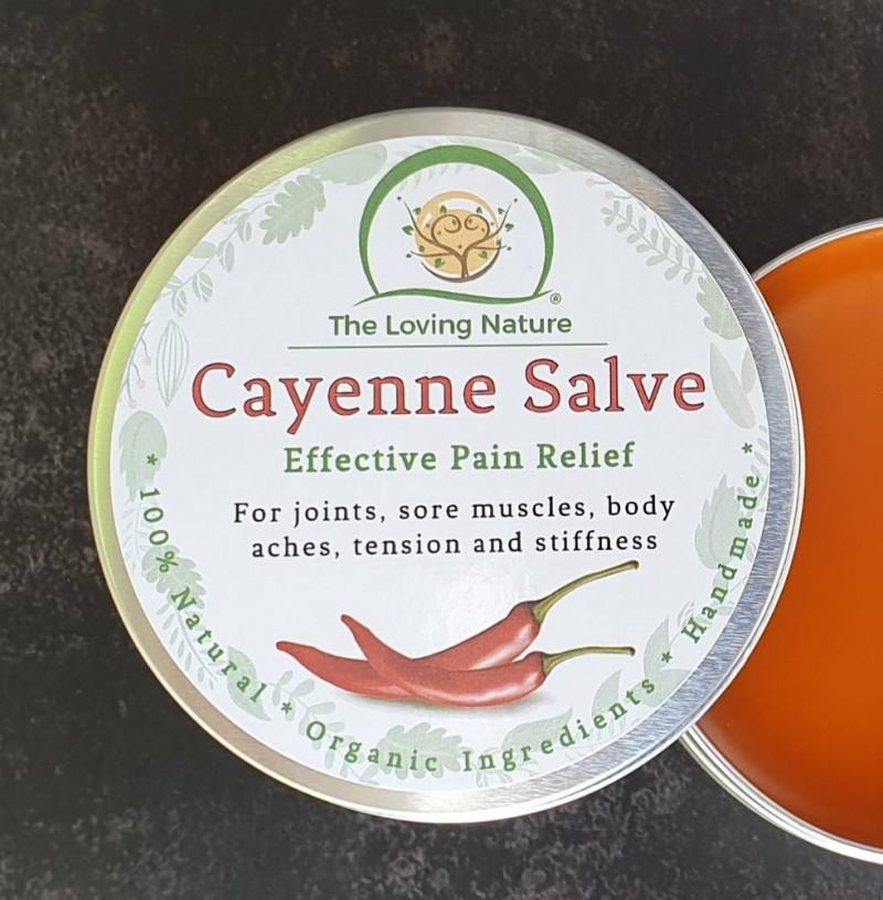 Natural Pain Relief Cream | Cayenne Pain Killer Salve - 100ml