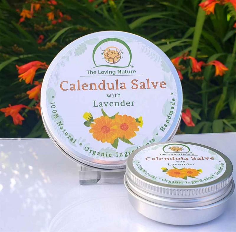 Calendula Cream - Skin Salve & Lip Balm 2