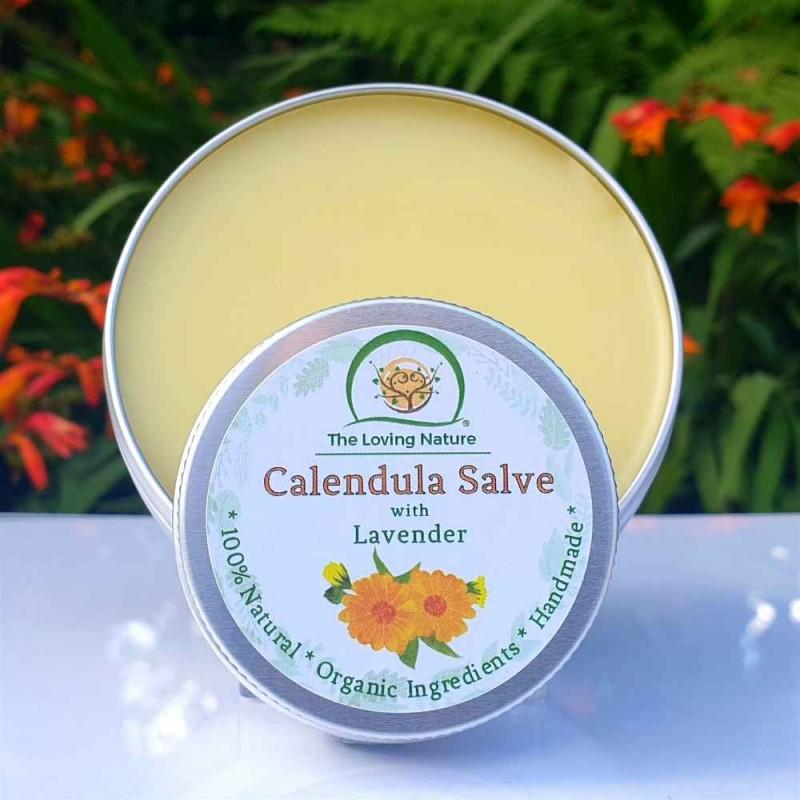 Calendula Cream - Skin Salve & Lip Balm 3