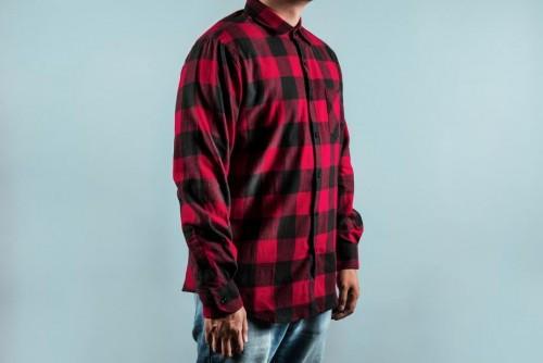 Chequered Red Shirt