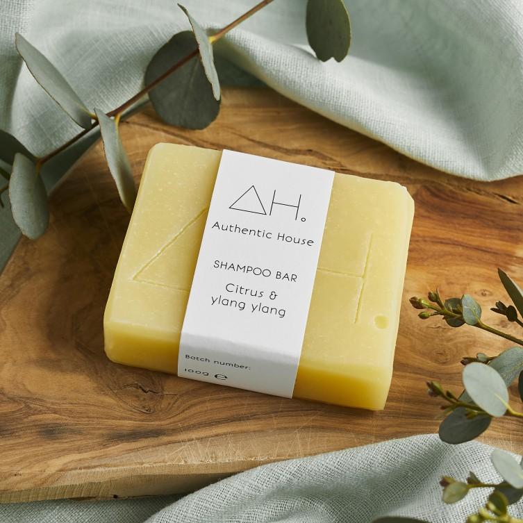 Citrus & ylang ylang shampoo bar