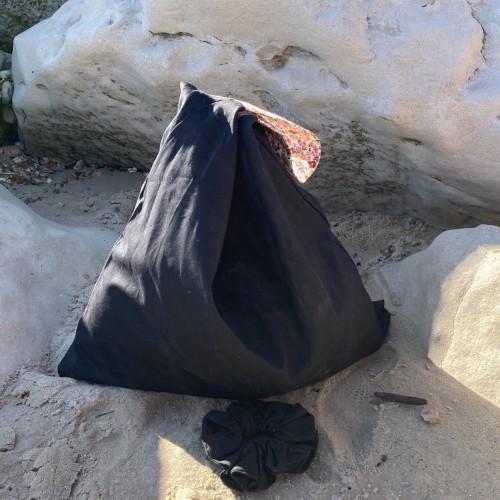 Black Large Summer Bag
