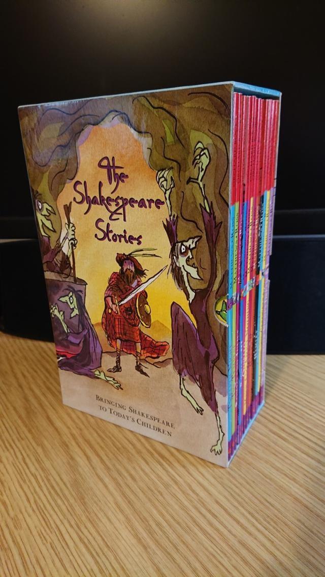 Box Set of 12 Shakespeare Books for kids