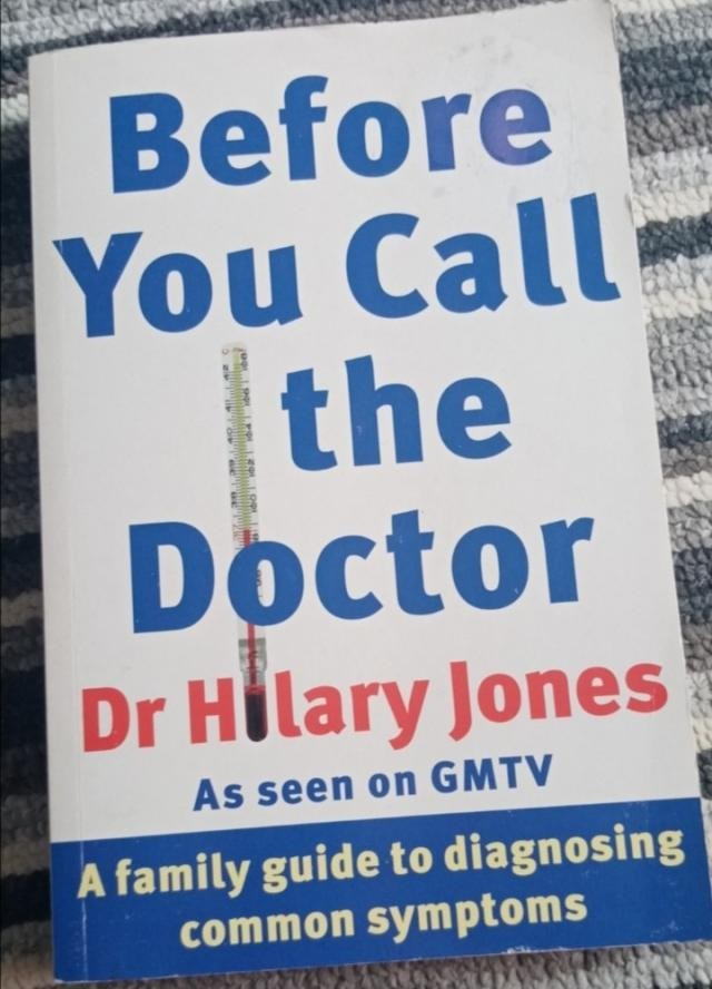 before you call the doctor. Book