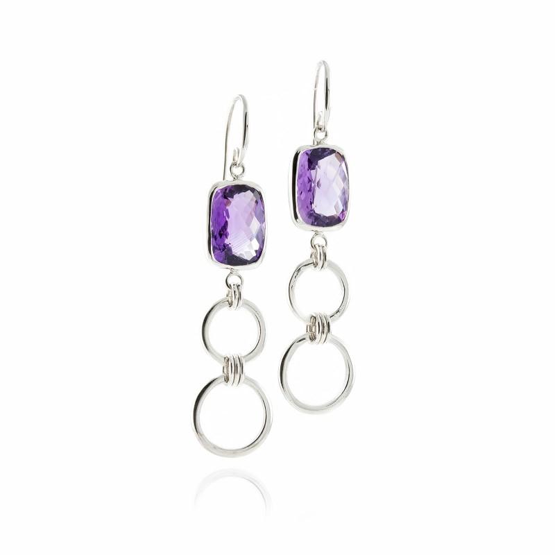 Desert Mystery Chandelier Earrings in Sterling Silver