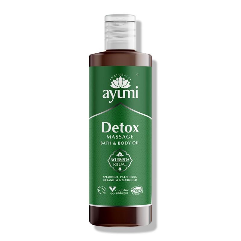 Detox Massage Bath & Body Oil 250ml 2
