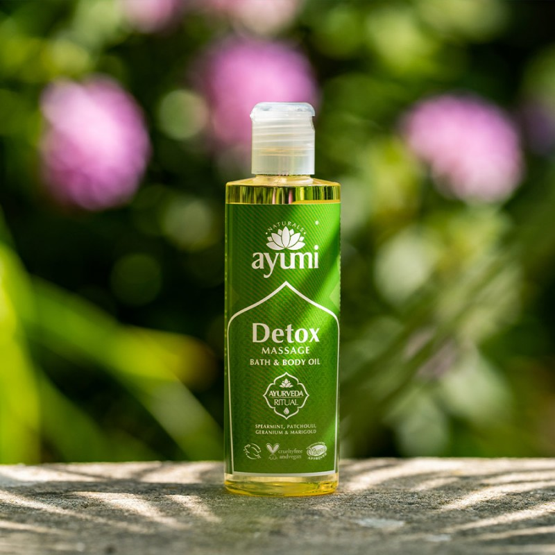 Detox Massage Bath & Body Oil 250ml 3
