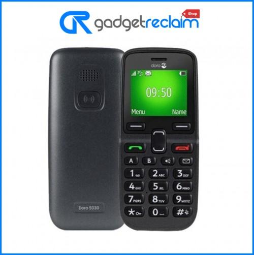 Doro 5030 - Graphite | 2G Assistance Phone | EE | Grade A