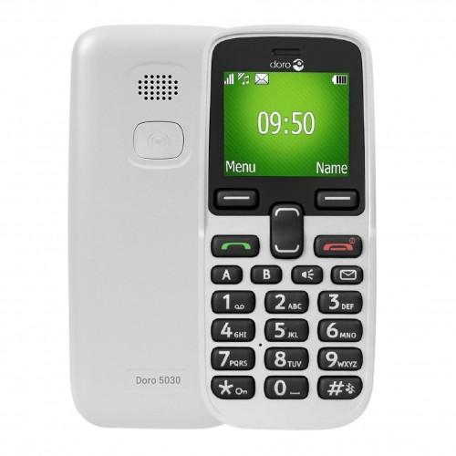 Doro 5030 White | Unlocked 2G SOS Assistance Phone | Grade B