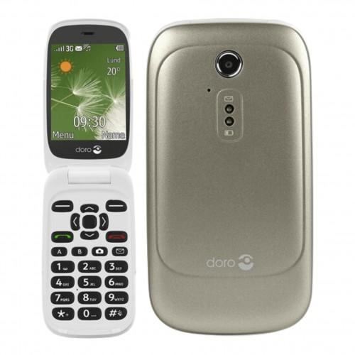 Doro 6520 - Big Button Phone - Champagne | Unlocked | Grade B