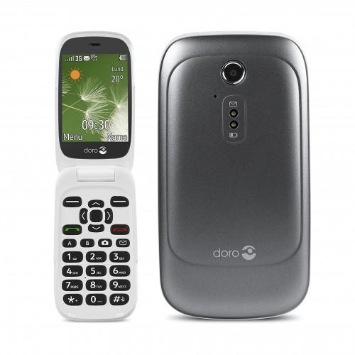 Doro 6520 Flip Phone - Big Button Phone - Graphite  | Unlocked | Grade C