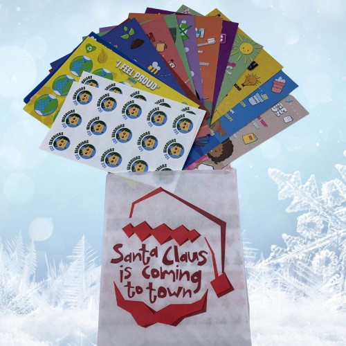 Eco Warriors Christmas Stocking Filler Pack - Sustainable Christmas Eve Box