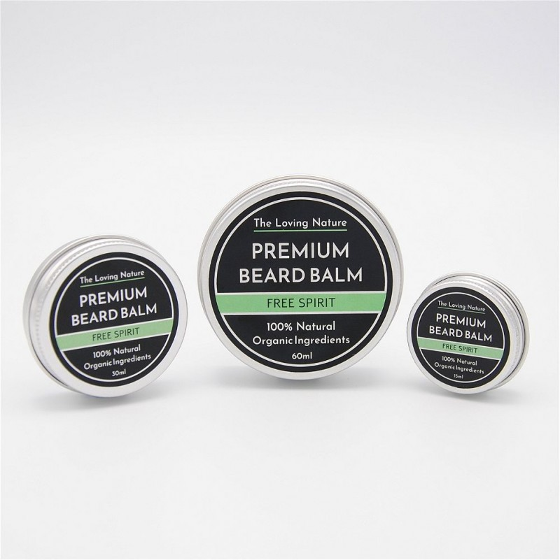 Pine & Eucalyptus Beard Balm - Free Spirit 5