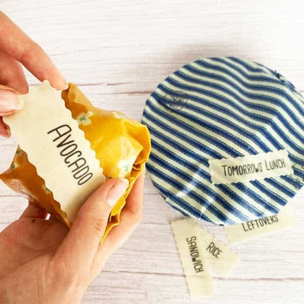Self-Stick Food Labels