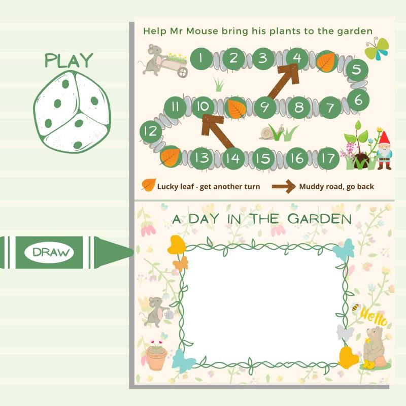 Garden Scavenger Hunt for Kids - Digital Printable 3