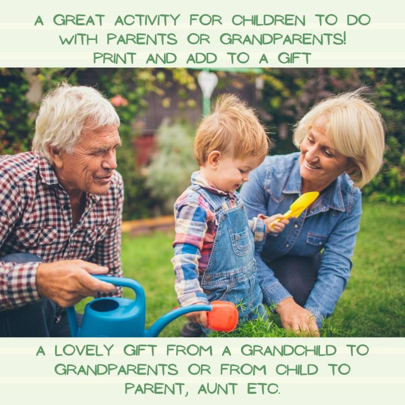 Garden Scavenger Hunt for Kids - Digital Printable 4