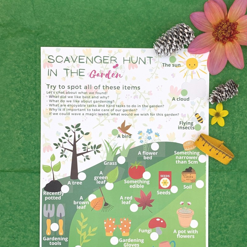 Gardening Letterbox Activity Pack for Kids, Eco Friendly 3