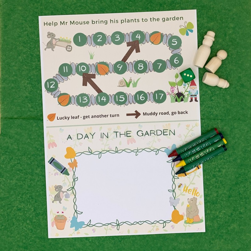 Gardening Letterbox Activity Pack for Kids, Eco Friendly 4