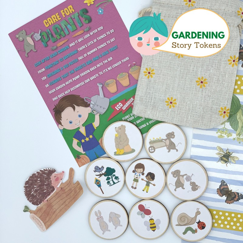 Gardening Story Tokens for Kids, Fostering Imagination and Love for Nature 2