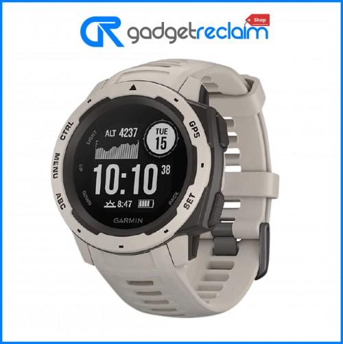 Garmin Instinct GPS Rugged Fitness Smartwatch | Tundra | Grade B