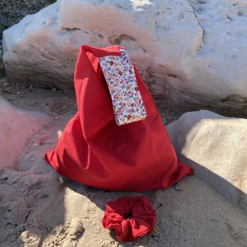 Red Large Summer Bag