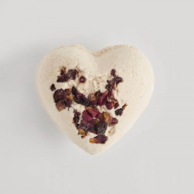 Heart bath bomb 2