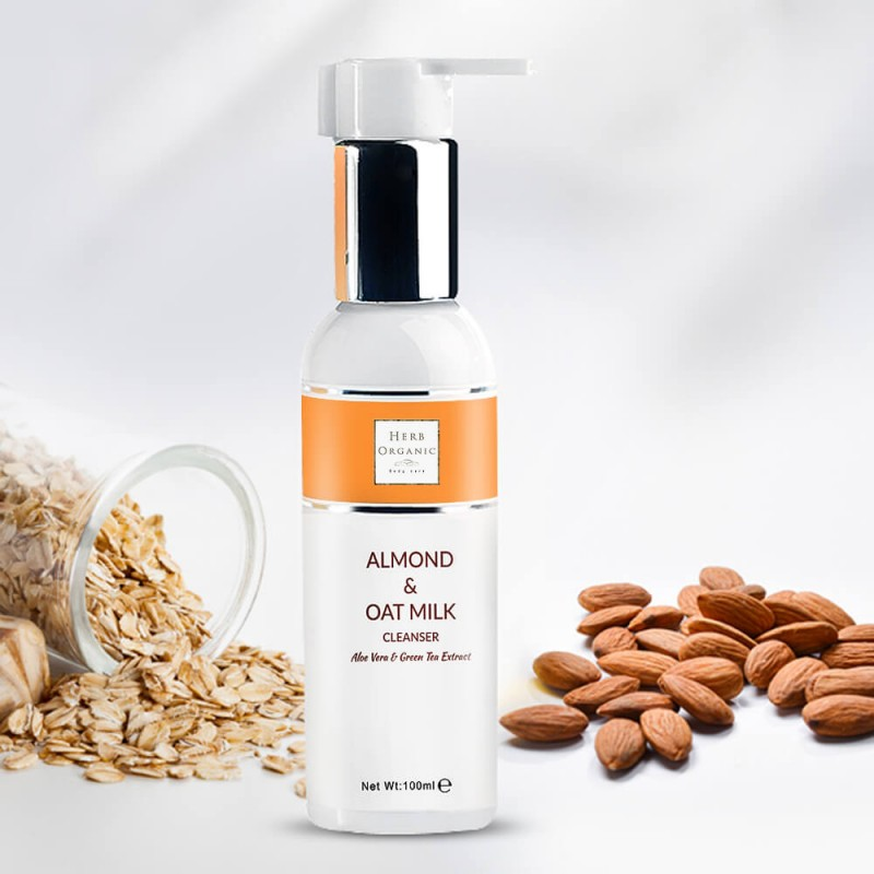 Invigorating Almond & Oat Cleanser 2