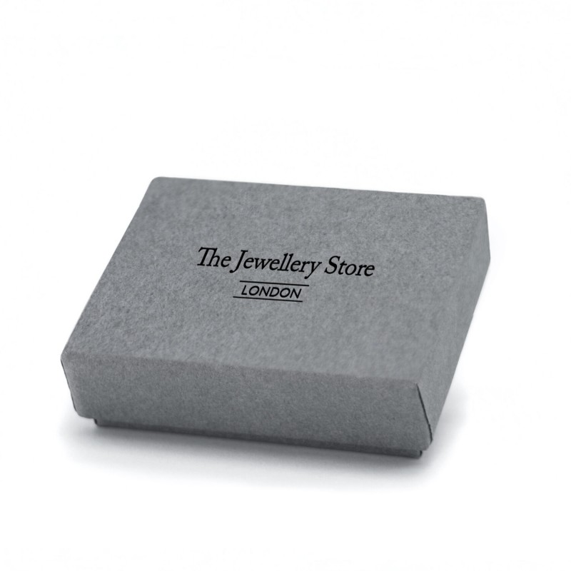 January Birthstone Necklace - Garnet Gemstone Charm in Sterling Silver 3