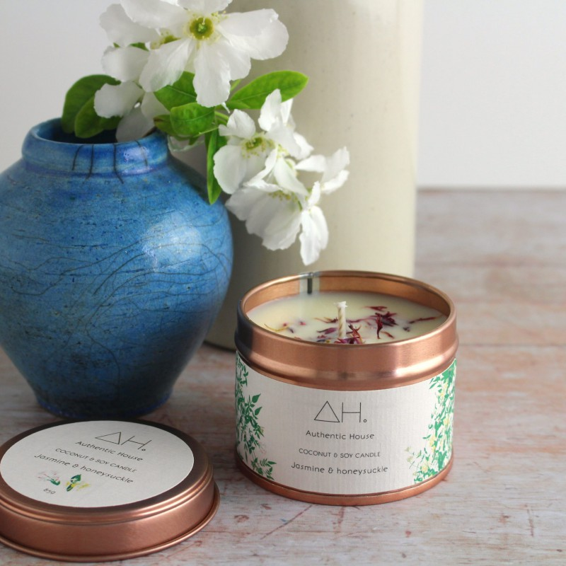 Jasmine & honeysuckle candle