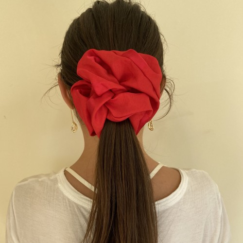 Jumbo Red Polkadot Hair Ties
